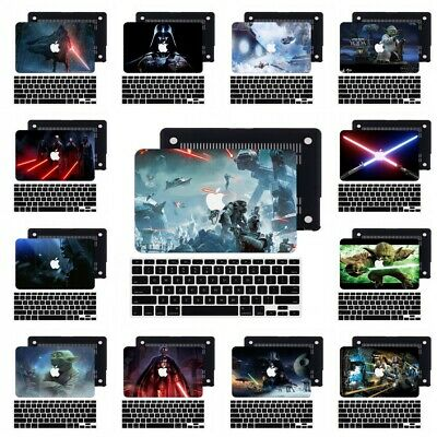 $13.93 • Buy 2in1 Star Wars Laptop Rubberized Hard Cut Out Case Cover For Macbook Pro Air 13