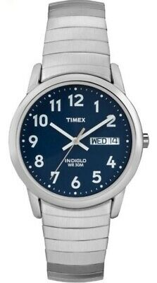 Timex Gents Easy Reader Indiglo Watch T20031 NEW • 37.49£