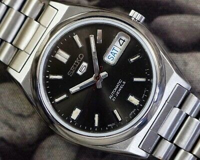 $ CDN36.09 • Buy Seiko 5 Automatic Cal.7s26 Men's Japan Refurbished Used Old Vintage Watch 860609