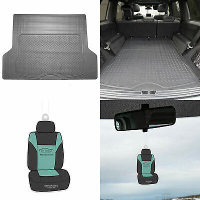 $24.99 • Buy Trunk Cargo Floor Mats For Auto SUV Van All Weather Rubber Gray W/ Gift