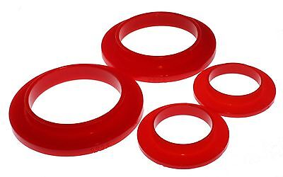 $25.90 • Buy Energy Suspension 79-04 Mustang Rear Coil Spring Isolators Upper & Lower (Red)