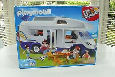Playmobil 4859 Camper Van - Complete - Boxed - Superb Condition C/w Instructions • 34.99£