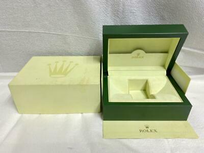 $ CDN120.98 • Buy Authentic ROLEX Empty Watch Green Box Case Geneve Suisse With Outer Box