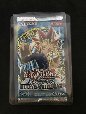 Yugioh, Legend Of Blue-Eyes Booster Pack New&Sealed, • 35£