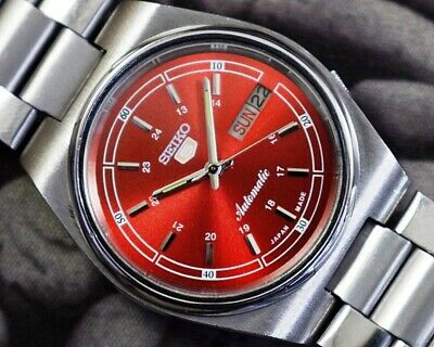 $ CDN34.29 • Buy Seiko 5 Automatic Cal.7s26 Men's Japan Refurbished Used Old Vintage Watch 870708