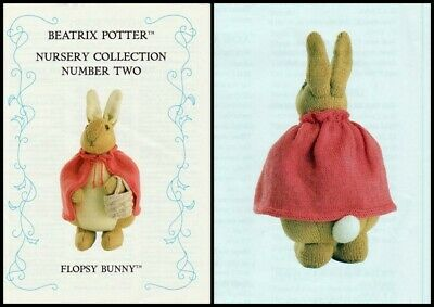 Beatrix Potter Flopsy Bunny Alan Dart Tdb Toy/doll Knitting  Knitting Pattern  • 20£