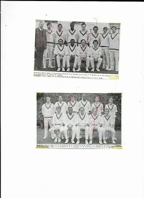 £3.99 • Buy 2 Worcestershire  County Cricket Club Team Pictures With 9 Autographs