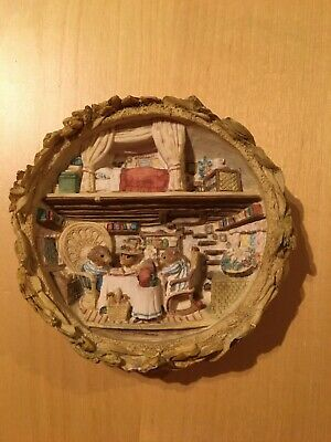 Brambly Hedge Border Fine Arts BH105 Harvest Mice Plaque. Unboxed. • 29.99£