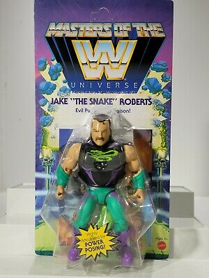 $32.99 • Buy Mattel Masters Of The WWE Universe: Jake  The Snake  Roberts Wave 4 - UNPUNCHED