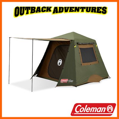 AU339 • Buy Coleman Instant Up 4p Gold Evo Tent Full Fly 4 Person Camping Tent