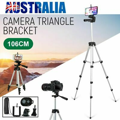 AU13.79 • Buy Universal Telescopic Camera Tripod Stand Holder Mount For IPhone Xs Max Samsung