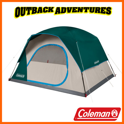 AU129.95 • Buy Coleman 6 Person Quick Dome Tent Camping Hiking