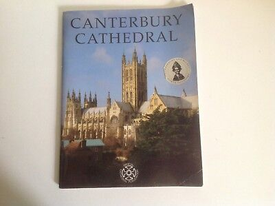 Guide Book Canterbury Cathedral Paperback Book Official Cathedral Publication • 1.99£