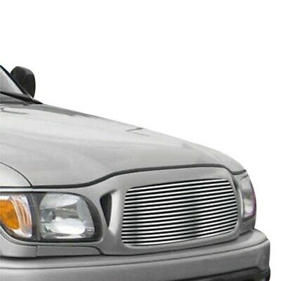 $68.83 • Buy For Toyota Tacoma 01-04 APG 1-Pc Silver Hairline Horizontal Billet Main Grille