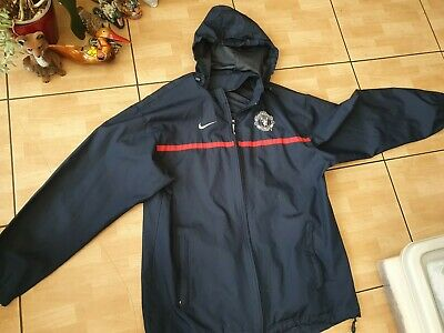 Nike Manchester United Men's Hoodie Top. Size S-M. Navy. Used Good Condition  • 10£