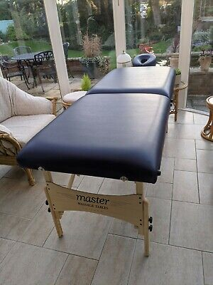 Master Massage 74cm Autolock Portable Massage Table Spa Beauty Couch Therapy Bed • 0.99£