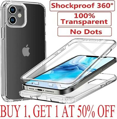 CASE For IPhone 12 11 Pro Max Mini XR SE 8 7 6 Plus Cover Clear Screen Protector • 3.95£