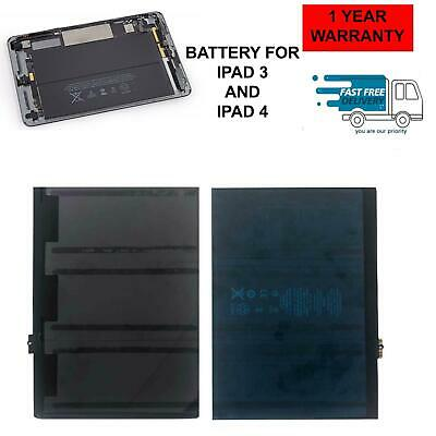 £16.99 • Buy Replacement Battery For IPad 3 / 4 11560mAh A1458 A1459 A1460 A1430 A1403 Uk