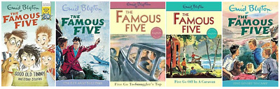 £10.99 • Buy Enid Blyton The Famous Five Collection 5 Book Set Like New
