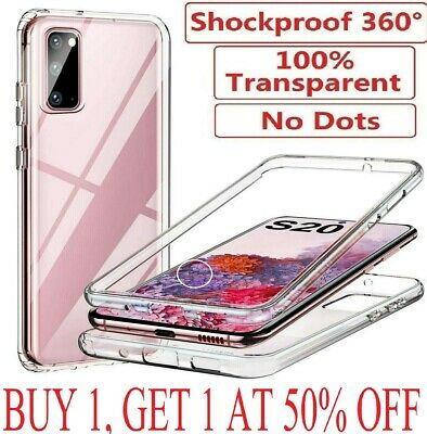 For Samsung Galaxy S8 S9 S10 S20 Plus S20 FE Case Cover Clear Screen Protector • 3.95£