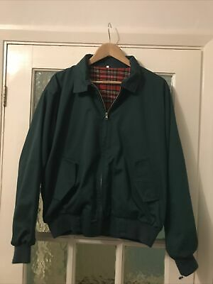 Relco Harrington Jacket Green Large Mod Skinhead Casual • 9.99£