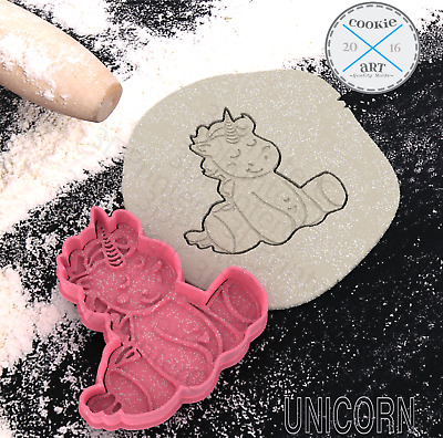 £3.59 • Buy Unicorn Head Cookie Cutter Set Biscuit Mold Fondant Cake Princess Pastry Fantasy