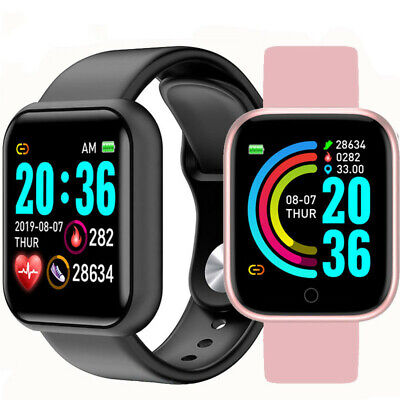 AU18.95 • Buy Smart Watch Bluetooth 4.0 Heart Rate Fitness Tracker Band IPhone Android IOS
