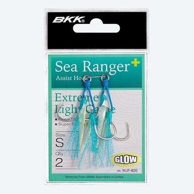 AU19.94 • Buy BKK Sea Ranger+ ~ Assist Hook Extreme Light Game ~ GLOW