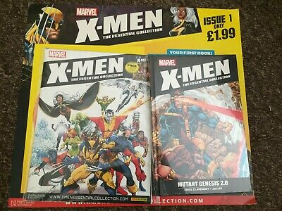 X-Men Essential Collection: Mutant Genesis Hatchette Out Of Print Issue 1  • 25£