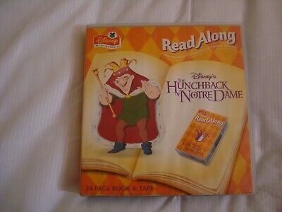 Disney's The Hunchback Of Notre Dame Read Along 24 Page Book & Tape. • 4.99£