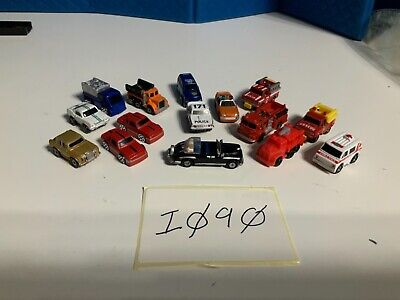 Micro Machines Job Lot 15 Vehicles Inc Limousine And Emergency Vehicles I090 • 10£