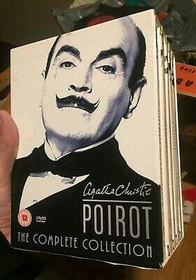 Poirot - Agatha Christie's Poirot - Complete Collection (DVD, 2005, 20-Disc... • 41£