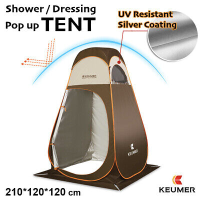 AU62.95 • Buy Shower Toilet Tent Outdoor Camping Portable Change Room Shelter Ensuite Zipper