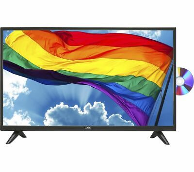 £139.97 • Buy Logik L32hed20 32  Led Tv Freeview Hd Tuner Hd Ready Built-in Dvd Player Hdmi