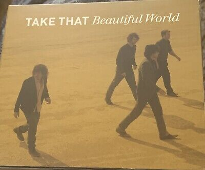 Take That Beautiful World CD&DVD Gatefold Cover  • 3£