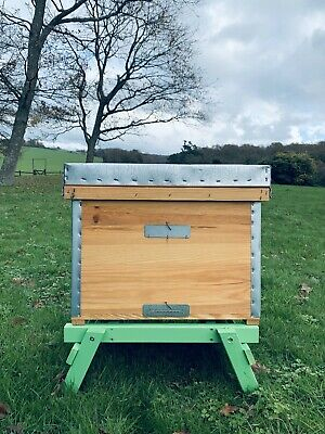 Layens Beehive Complete Assembled Inc 14 Frames Natural Beekeeping Eco Bee Hive • 239£
