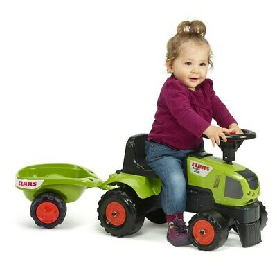 Baby Claas Sit 'n' Ride Tractor And Trailer Farm Toy For Kids Toddlers Children • 42.99£