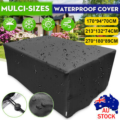 AU32.09 • Buy Waterproof Outdoor Furniture Cover Garden Patio UV Table Chair Shelter Protector