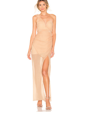 AU65 • Buy Bnwt Alice Mccall Nude You're The One For Me Gown - Size 14 Au/10 Us (rrp $495)