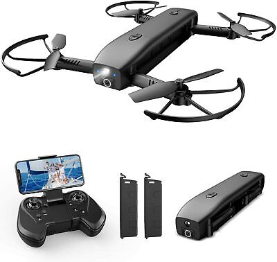 AU124.32 • Buy Holy Stone HS161 Drone With Camera For Adults 1080P FHD, FPV Foldable Drones