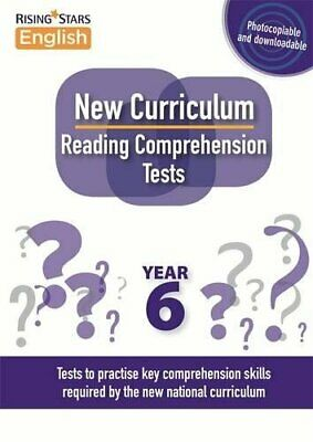 £78.99 • Buy New Curriculum Reading Comprehension Tests Year 6 By Jeffrey, Kevin Book The