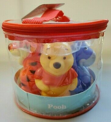 £15.93 • Buy Disney Baby Winnie The Pooh 5 Pack Bath Tub Squirters Squirt Toys New