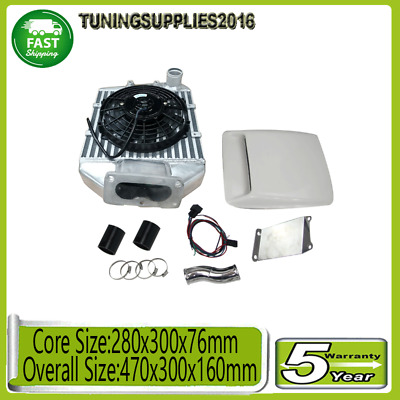 AU599 • Buy For Land Cruiser 80 100 105 Series HZJ105 1HZ 1HDT 4.2L Top Mount Intercooler+