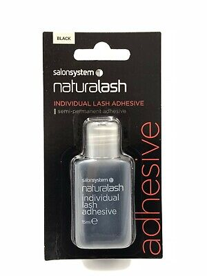 £4.99 • Buy Salon System Semi-Permanent Individual Eyelash Adhesive Black Glue 15ml