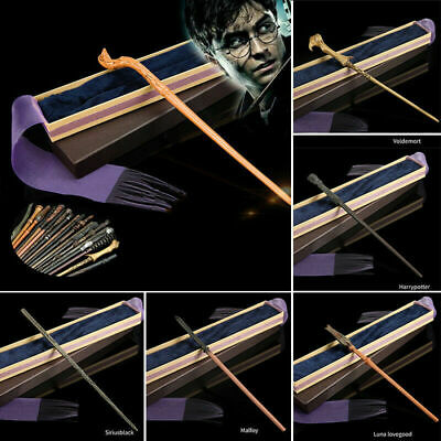 Harry Potter Dumbledore Voldemort Hermione Magic Wand Cosplay Collection Boxed • 13.32£