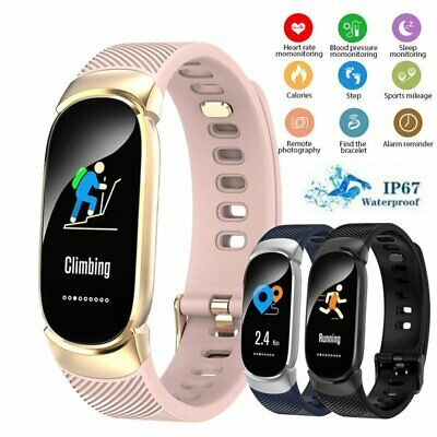 AU30.95 • Buy Fitness Smart Watch Band Sport Activity Tracker Kids Fitbit For IOS Android New