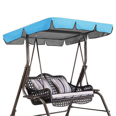 Swing Chair Top Cover Replacement Canopy Porch Park Patio Outdoor Garden • 17.46£