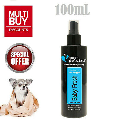 £8.74 • Buy Groom Professional Baby Fresh Pet Cologne Dogs Spray Strong Smell 100mL NEW UK