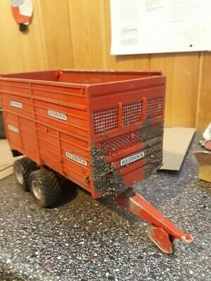 £40 • Buy Rare Britains Conversion Redrock Dirty Silage Trailer For Tractor Siku Universal