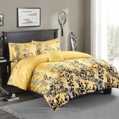 AU35 • Buy Single/KS/Double/Queen/King/Super K Soft Quilt/Duvet Cover Set-Woods Yellow